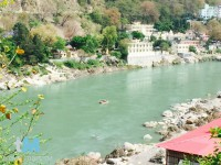 Ganges in Rishikesh, Indien